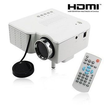 HD UC28 PRO HDMI Portable Mini LED Projector Home Cinema Theater AV VGA USB WT on eBay Daily Deals | Lairds Custom Integration | Scoop.it
