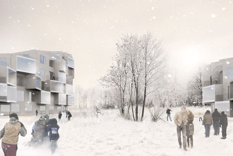BIG architects: puu-bo, 1st prize e2 timber competition in finland | Finland | Scoop.it