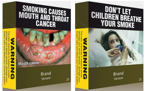 Australia unveils ugly cigarette packets in fight against smoking  - Telegraph | Market Failure | Scoop.it