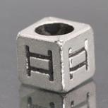 Silver Metal Beads for Pandora Charms with Alphabet 1pc PI94 [PI94] - $2.99 | Cute Pandora Charms on bracelet-bead.com | Scoop.it