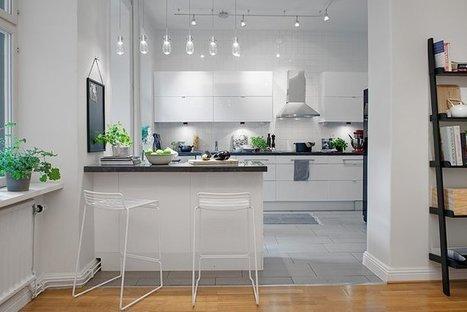 19 Classy Modern Scandinavian Kitchen Design Ideas - Architecture Art Designs | Home living Spaces - Kitchen - Bathroom - Living | Scoop.it