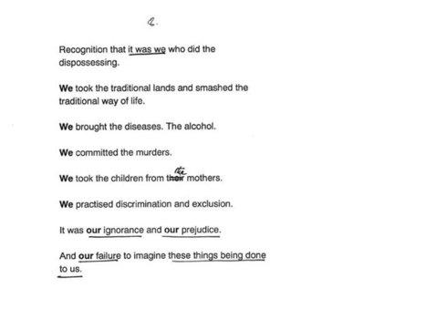 Paul Keating's Redfern Park speech and its rhetorical legacy | Speeches | Scoop.it