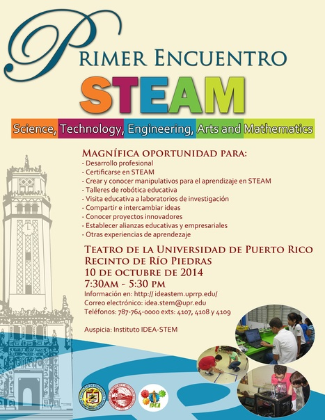 """IDEA-STEM   """"… Leadership tomorrow depends on how we educate our students today—especially in science, technology, engineering and math.   Aprendiendo a Distancia   Scoop.it"""