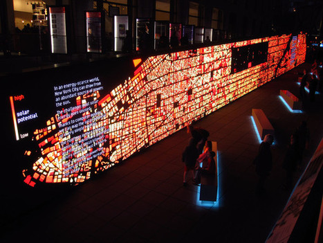 Data Wall: IBM Think Exhibit | Foresight Research Irregular | Scoop.it