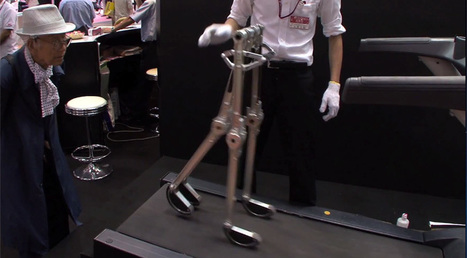 BlueBiped: A human-like walking robot that requires no power source | ExtremeTech | Creating the Future | Scoop.it