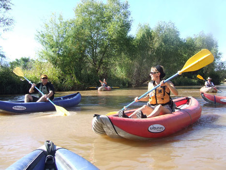 Sedona Adventure Tours Ready for Verde River Ducky and Tubing Season | I love boating | Scoop.it