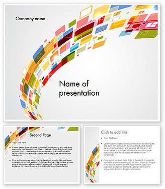 Colorful Abstract Technology PowerPoint Template | PowerPoint Presentations and Templates | Scoop.it