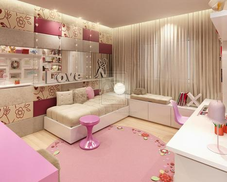 Chic and Beautiful Bedroom Designs for Teenage Girls | Internet | Scoop.it