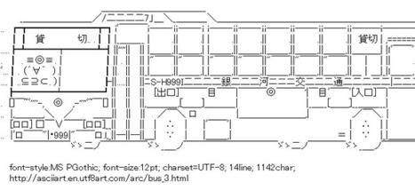 The gallery for --> Ascii Art Tank | ASCII Art | Scoop.it