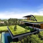 Intégration réussie d'une villa aux toits végétalisés à Singapoure | Architecture et nature | Scoop.it