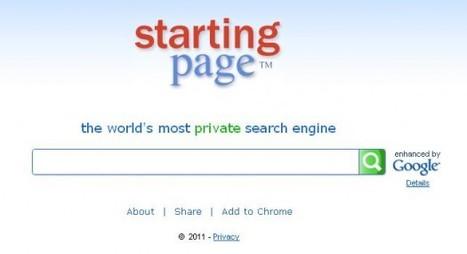 Rechercher sur Google sans laisser la moindre trace, Starting Page | Ballajack | Time to Learn | Scoop.it