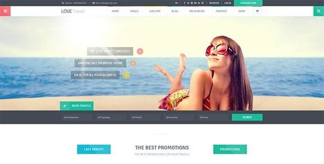 Top 12 Travel WordPress Themes | WordPress Theme | Scoop.it