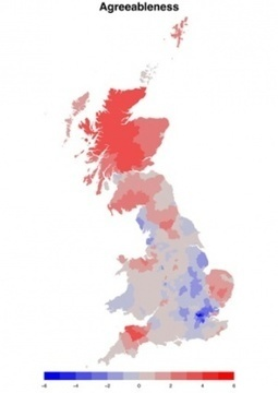 Mapping the Great British personality | Physics as we know it. | Scoop.it