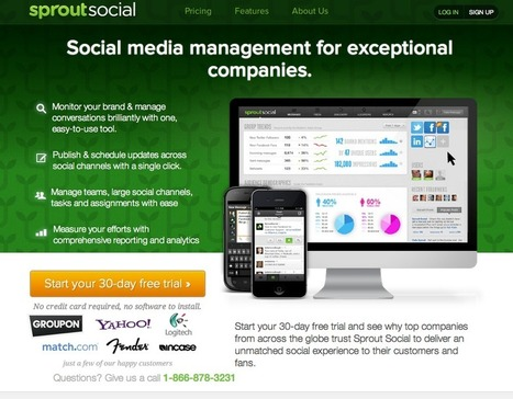 Favorite Social Media Management Tools for Small Business | Technologies for Small Business | Scoop.it