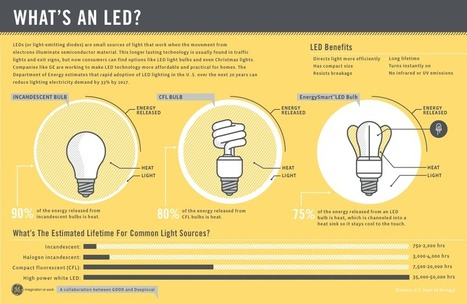 The Benefits of Using LED Lighting [Infographic] | Olive Ventures Blog | Trends in Sustainability | Scoop.it