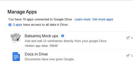 Les développeurs peuvent stocker des données dans Google Drive   Android's World   Scoop.it