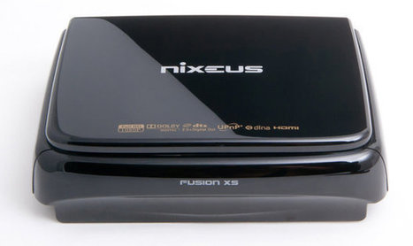 Nixeus Fusion XS (NX-500) Network Media Player | Embedded Software | Scoop.it