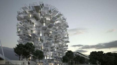 Montpellier : l'Arbre Blanc, une folle idée japonaise | UrbaNews.fr | Cahier des Architectes | Scoop.it