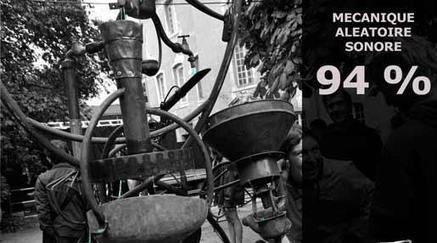 Mécanique aléatoire sonore « 94% »   Festival de l'Oh!   DESARTSONNANTS - CRÉATION SONORE ET ENVIRONNEMENT - ENVIRONMENTAL SOUND ART - PAYSAGES ET ECOLOGIE SONORE   Scoop.it
