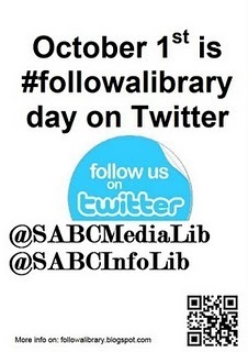 #Followalibrary Day 1st Oct - libraries are connecting #libraries | The Information Professional | Scoop.it