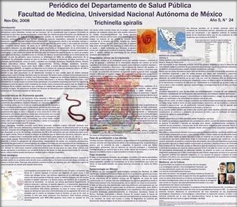 Facultad de Medicina UNAM | Trichinella spiralis | Scoop.it