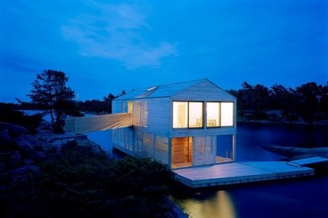 The Floating House by MOS Architects | sustainable architecture | Scoop.it