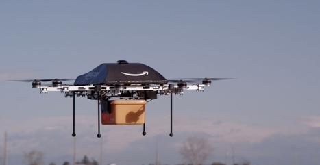 Amazon PrimeAir quer fazer entregas de produtos usando drones | Linguagem Virtual | Scoop.it