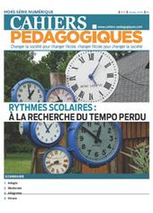 Rythmes scolaires, blocages et déblocages - Les Cahiers pédagogiques | education | Scoop.it