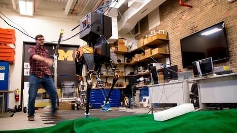 Bipedal robot conquers uneven ground | Robotics | Scoop.it