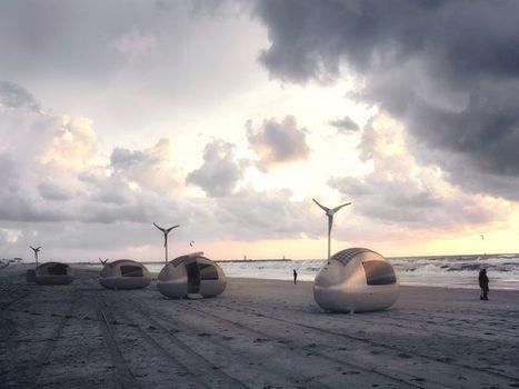 L'écocapsule, une maison nomade et futuriste 100% autonome en énergie | Dans l'actu | Doc' ESTP | Scoop.it