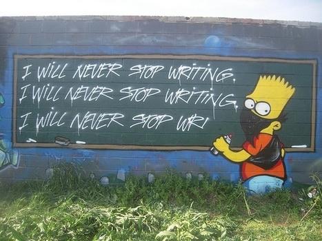 Street Art Simpsons | HiddenTavern | Scoop.it