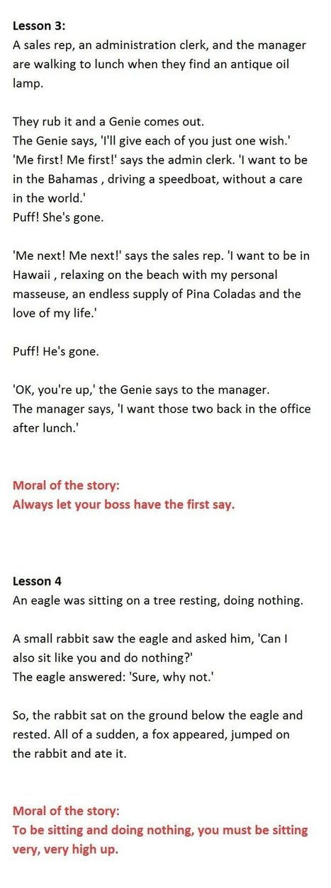6 Management Lessons That Everyone Should Know. #2 Is Priceless. | Stories to share | Scoop.it