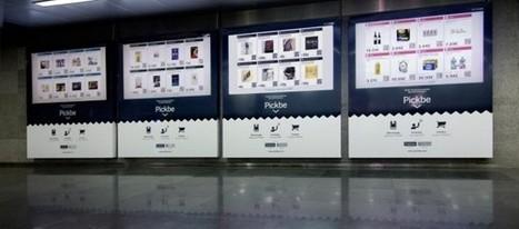 Las tiendas virtuales llegan al metro de Barcelona | Metros - Sistemas de transporte público | Scoop.it