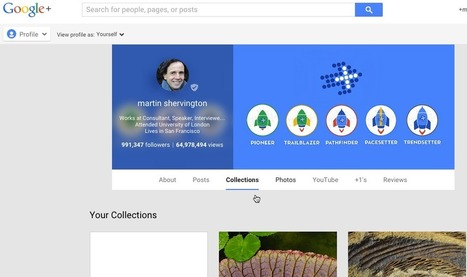 A Guide to Google+ Collections | Google+ ( Google Plus ) for Small Business | Scoop.it