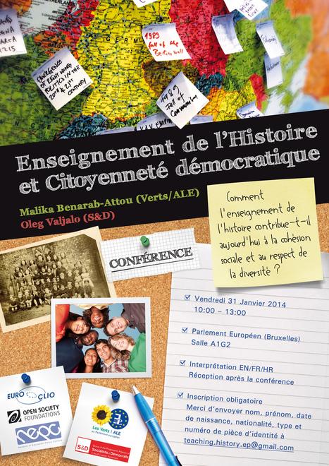 Conférence : Enseignement de l'histoire et citoyenneté démocratique | DE L'ACTU POUR ALIMENTER LES ANIMATIONS EN CLASSE | Scoop.it