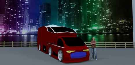 Midterm / Dorm-room car / Exterior | Technology into Architecture | Scoop.it
