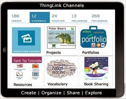 Cool Tools for 21st Century Learners: Create Interactive Albums with ThingLink Channels | Neue Medien - Pro und Kontra | Scoop.it