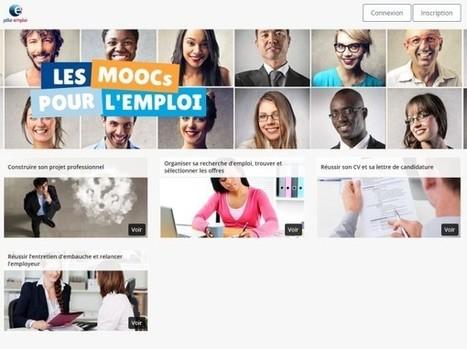Pôle emploi lance des Moocs pour aider les demandeurs d'emploi | Conseiller d' orientation | Scoop.it
