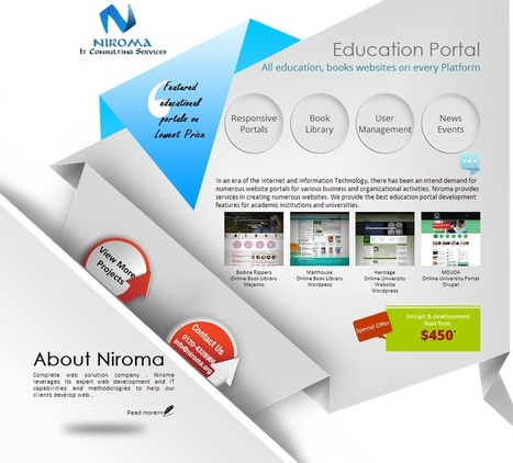 Niroma IT Consulting Services | Web Development Company | Scoop.it