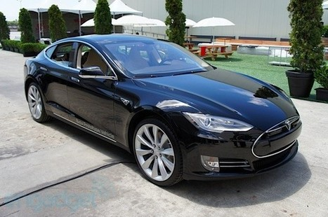 Tesla Model S first drive: the sports sedan goes electric (update ... | READ WHAT I READ | Scoop.it