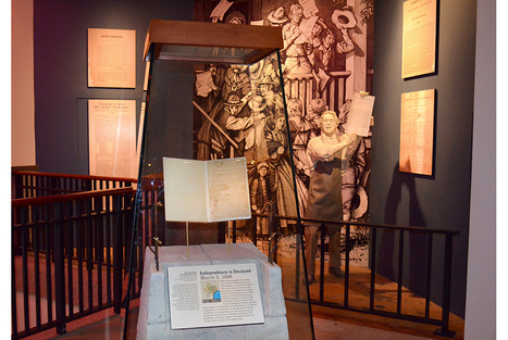 Display of 1836 Constitution offers Bullock Texas State History Museum visitors a rare opportunity | Art Daily | Kiosque du monde : Amériques | Scoop.it