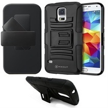 Clipster Kickstand Case + Belt Clip for Samsung Galaxy S5 i9600 (Rugged Style) | Phone Case Covers | Scoop.it