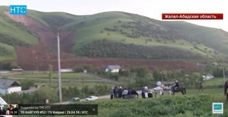 VIDEO: landslide in loess in Kyrgyzstan | Geology | Scoop.it