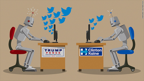 A third of pro-Trump tweets are generated by bots | Nerd Vittles Daily Dump | Scoop.it