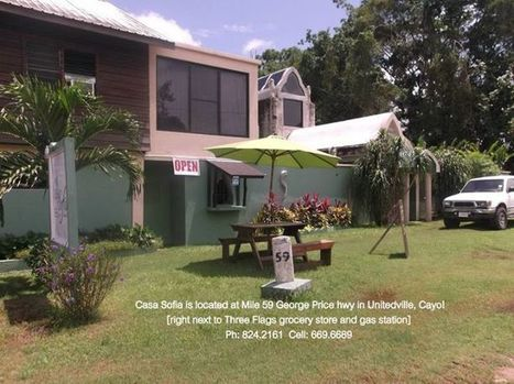 New Restaurant Casa Sofia in Unitedville, Cayo! | Casa Sofia Inn - Belize | Scoop.it
