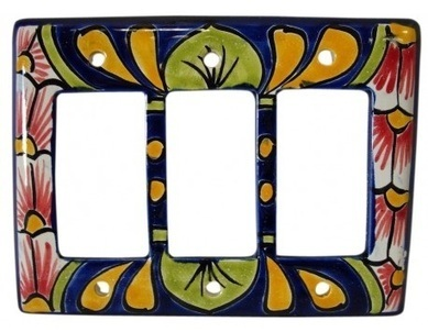 Talavera Triple Rocker | Talavera Mexican Pottery | Scoop.it