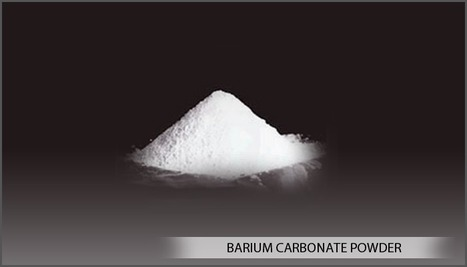 Application of Barium Carbonate in Many Industries | chemical industry | Scoop.it