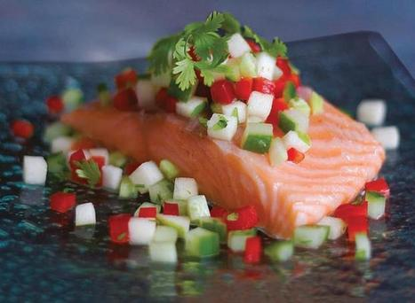 Tea Smoked Salmon with Cucumber Relish | Oak Recipes | Delicious Recipes | Scoop.it