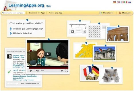 Créez facilement des activités en ligne avec Learning Apps | TICE & FLE | Scoop.it