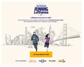 Lufthansa lance le Challenge « Destination Running Lufthansa» | Sport and biz | Sportbusiness | Scoop.it
